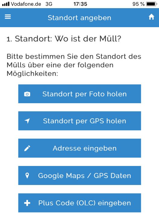 App für den Umweltschutz – MÜLLweg.de hilft
