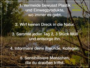 DRECK WEG, KOBLENZ!: 5 Tipps für eine saubere Umwelt