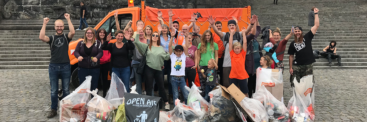 Foto: World Cleanup Day 2019 – Koblenz