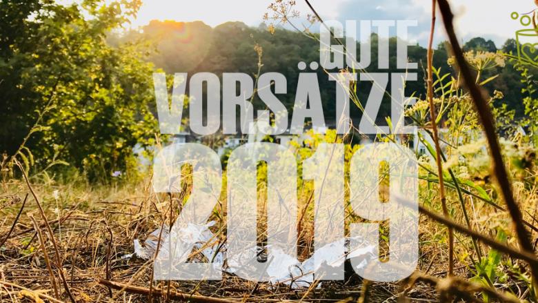 Foto: Gute Vorsätze für 2019 – Was wir mit DRECK WEG, KOBLENZ! vorhaben