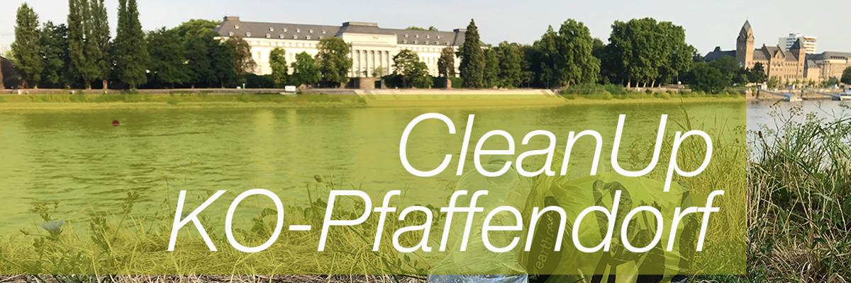 Foto: CleanUp in Koblenz-Pfaffendorf am Samstag, den 12.Januar 2019