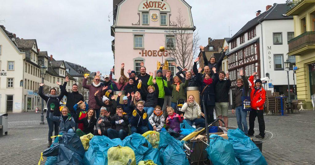 Foto: Dreck-weg-Tag 2019 in Koblenz-Ehrenbreitstein