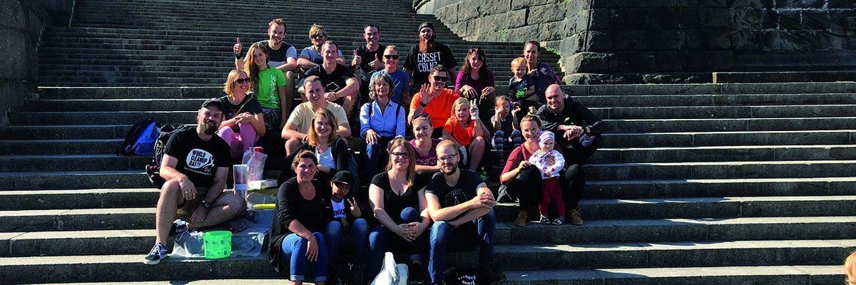 Foto: Gruppe beim CleanUp