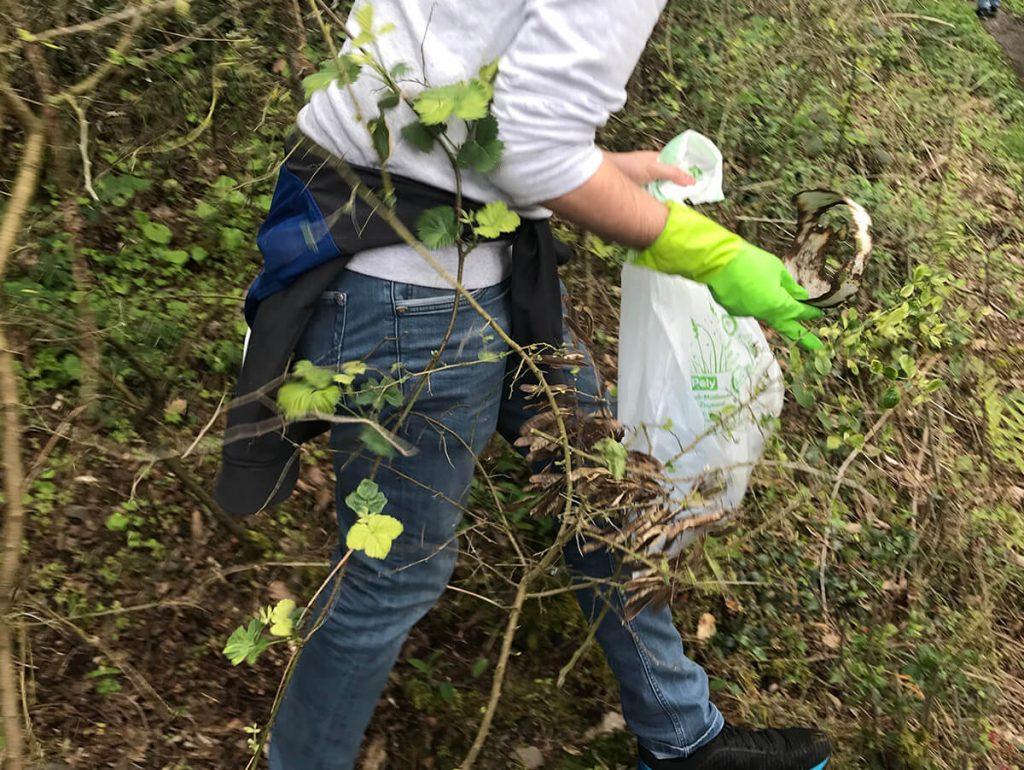 Foto: Müll in der Natur