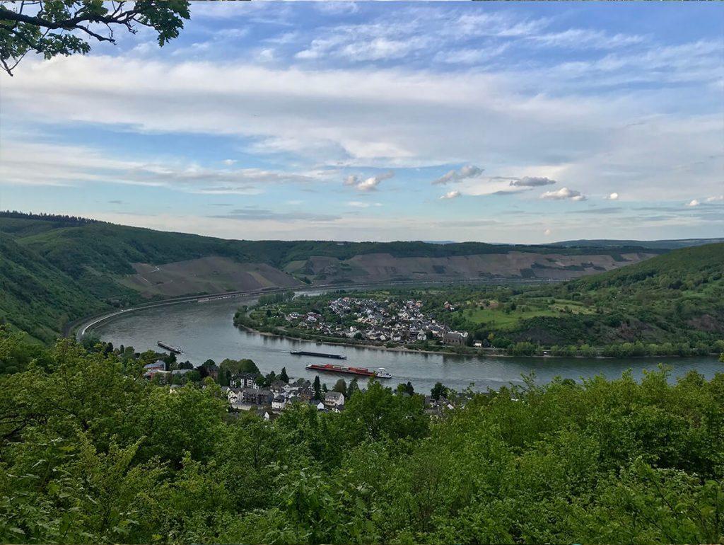 Foto: Traumschleife Elfenlay, Rhein bei Boppard