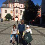 Bild: ehrenamtliche Helfer beim World Cleanup Day 2019 in Koblenz