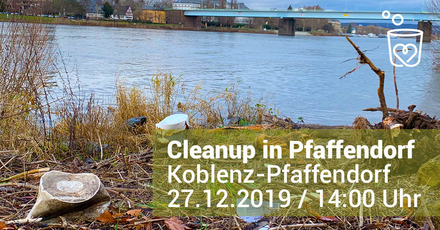 Foto: Cleanup Koblenz-Pfaffendorf am 27.12.2019
