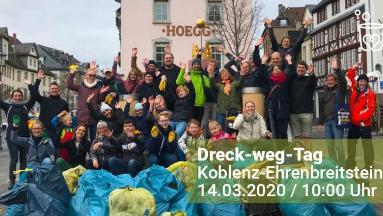 Eventhinweis: Dreck-weg-Tag 2020 in Koblenz