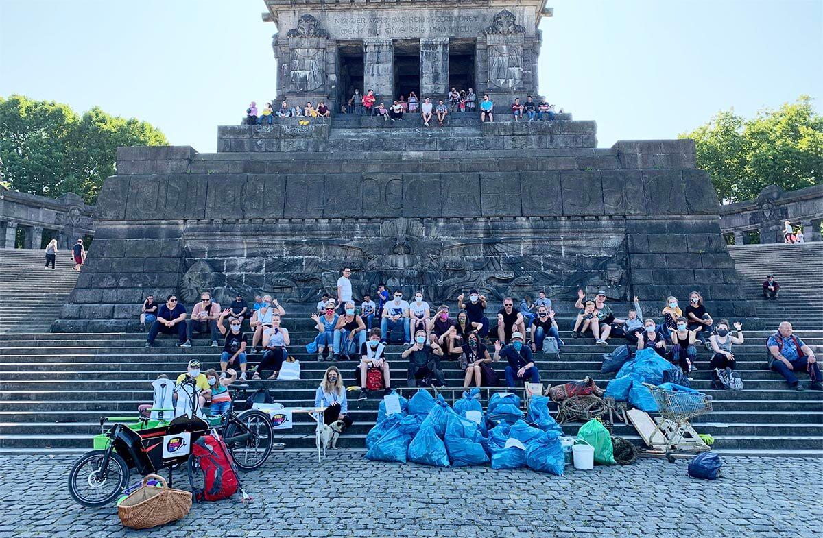 Abbildung: Gemeinnütziger Verein DRECK WEG e.V. sammelt Müll
