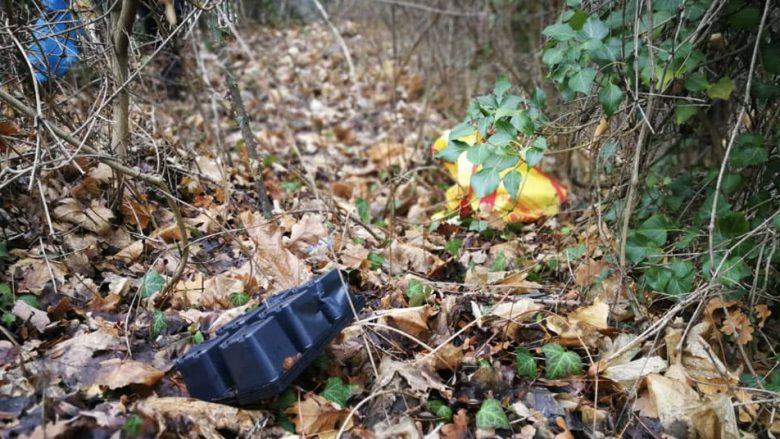 Abbildung: Müll in der Natur
